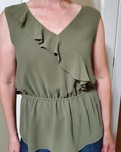 RW&CO Army Green Blouse